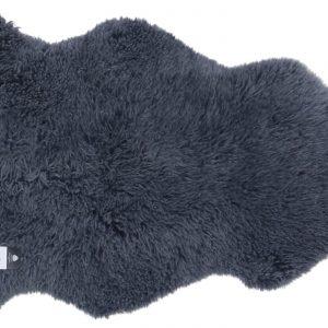 Curly Sheepskin Rug Grey Large