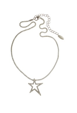 Necklace with Crystal Embodied Star