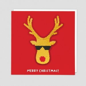 Greetings Card Rudolph