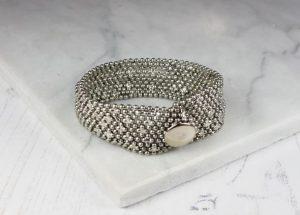 Silver Narrow Cuff