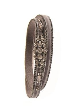 Bohemian Double Wrap Elephant Bracelet