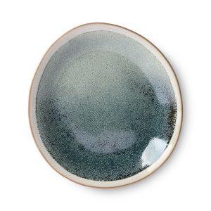 Mist Ceramic 70's Small Plate