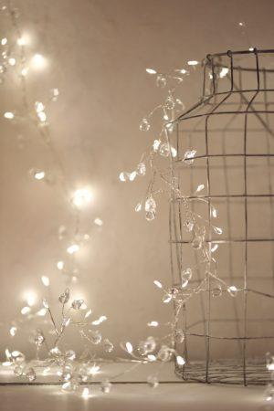 Crystal Cluster String Lights