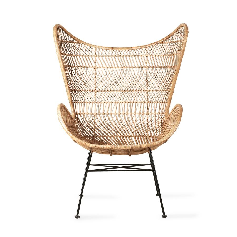 Natural Rattan Egg Chair