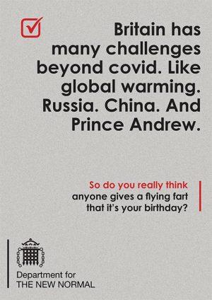Birthday Card - Humour