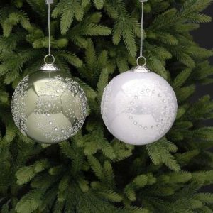 Glass Bauble with Harmony Design