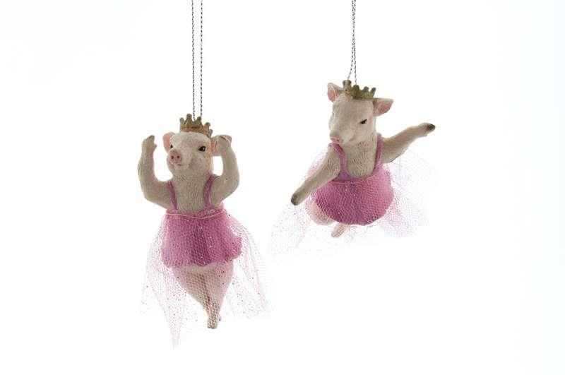 Pig in a Tutu Hanging Decoration