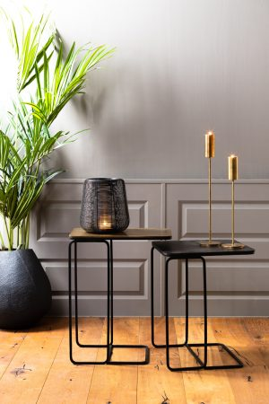 Side Nesting Tables Copper & Bronze