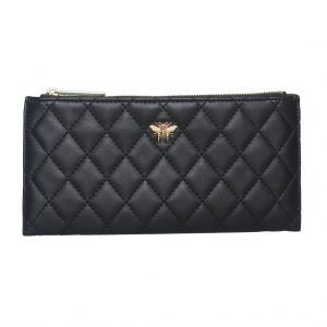 Black Bee Quilted Purse