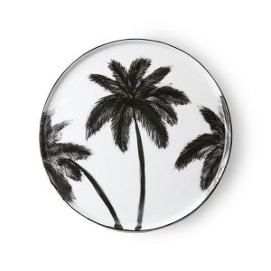 Porcelain Dinner Plates Palms