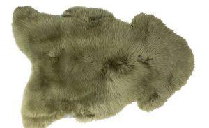 Silky Sheepskin Sage Large