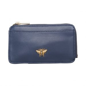 Navy Bee Coin Purse