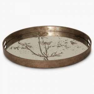 Small Waltham Cow Parsley Print Round Tray
