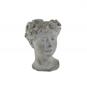 Lady Head Face Pot