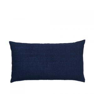 Heaven Blue Linen Gable Cushion