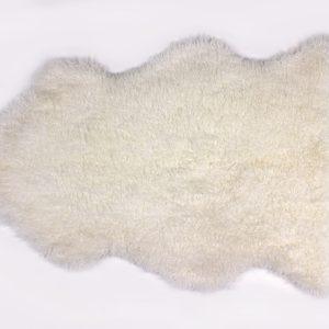 Off White Curly Sheepskin Rug
