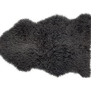 Steel Curly Sheepskin Rug