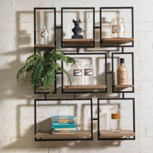 Avondale Geometric Wall Shelf