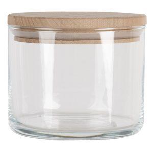 Glass Storage Jar with Lid 8cm