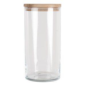 Glass Storage Jar with Lid 20cm