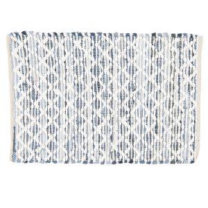 Grey Diamond Design Rug