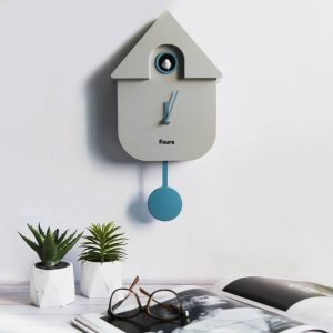 Grey House Cuckoo Clock