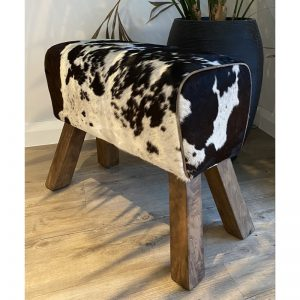 Medium Cowhide Pommel Horse Bench