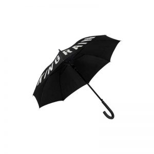 Rude Word Black Umbrella