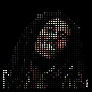 Bob Marley Pixel Print with Frame 50x50cm