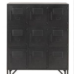 9 Door Metal Industrial Cupboard
