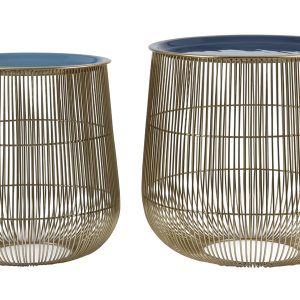 Wire Tray Tables Set of 2