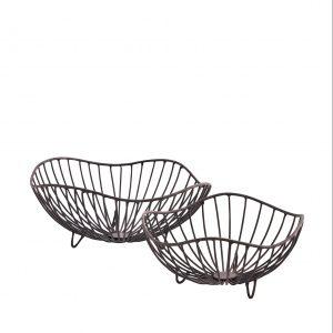 Organic Shaped Iron Basket