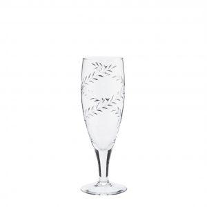 Cut Glass Champagne Flute