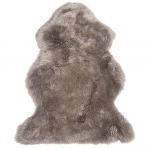 Silky Sheepskin Rug Mole