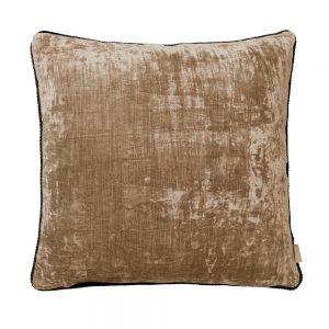 Alpaca Lush Square Velvet Cushion