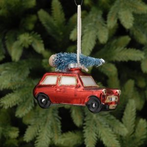 Red car Hanging Christmas Decoration