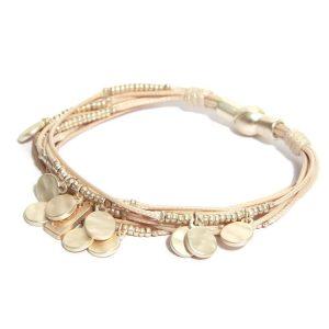 Envy Multi Strand Gold Bracelet