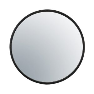 Selfie Round Black Mirror Large