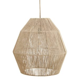 Natural Jute Pendant Lamp