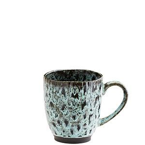Turquoise Stoneware Mug