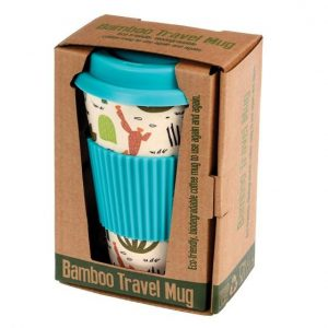 Bamboo Desert in Bloom Travel Mug