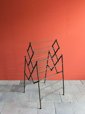 Metal Newspaper Rack