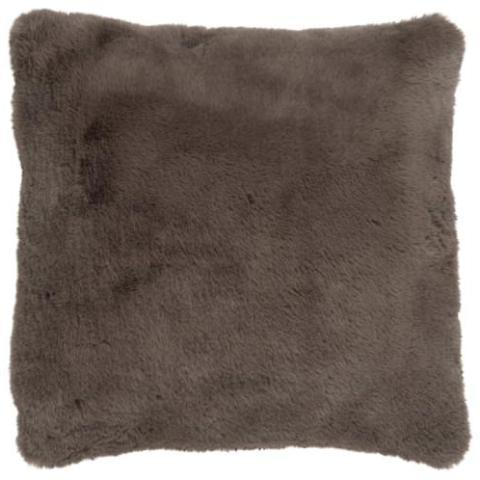 Taupe Fleece Cushion
