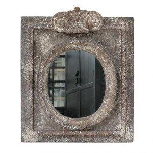 Rustic Finish Polyresin Mirror