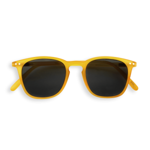Izipizi #E Sunglasses Yellow Crystal with Grey Lenses