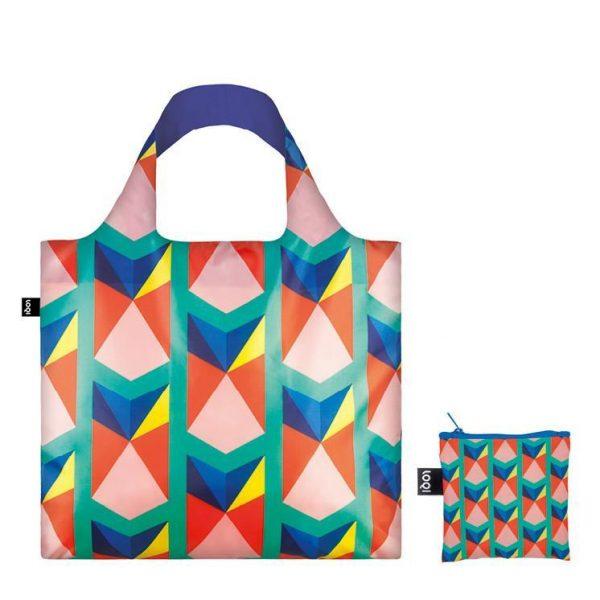 Loqi Geometric Triangles Bag