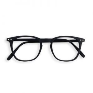 Izipizi #E Reading Glasses (Spectacles) in Black