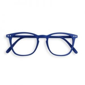 Izipizi #E Reading Glasses(Spectacles) Navy Blue with Soft Grey Lenses