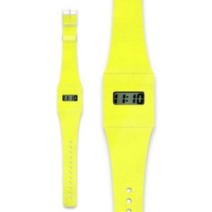 Neon Yellow Paper Watch