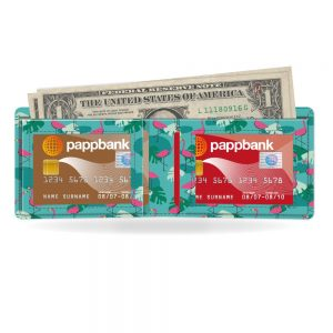 Tropical Heat Pappwallet